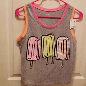 NWT Popsicles Sleeveless Top